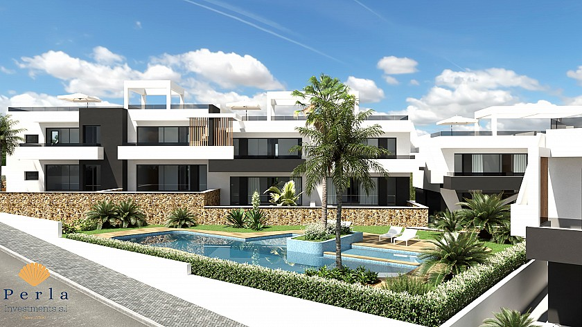 Bungalow con solárium en Villamartín - Perla Investments